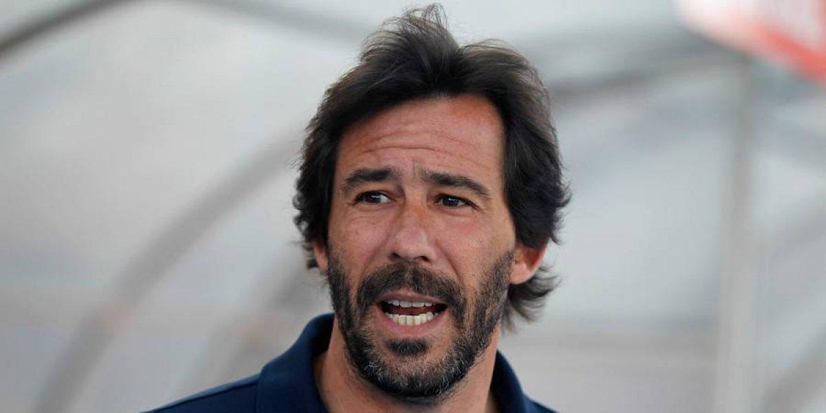 """Pablo Sánchez no se complica con el sobrepeso de Eduardo Lobos: """"Él no va a jugar por estar gordo o flaco"""""""