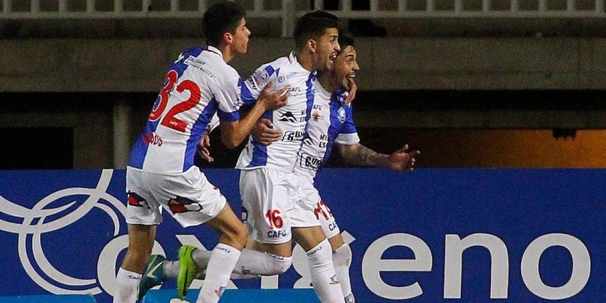 Antofagasta vuelve a la pelea tras derrotar a San Luis