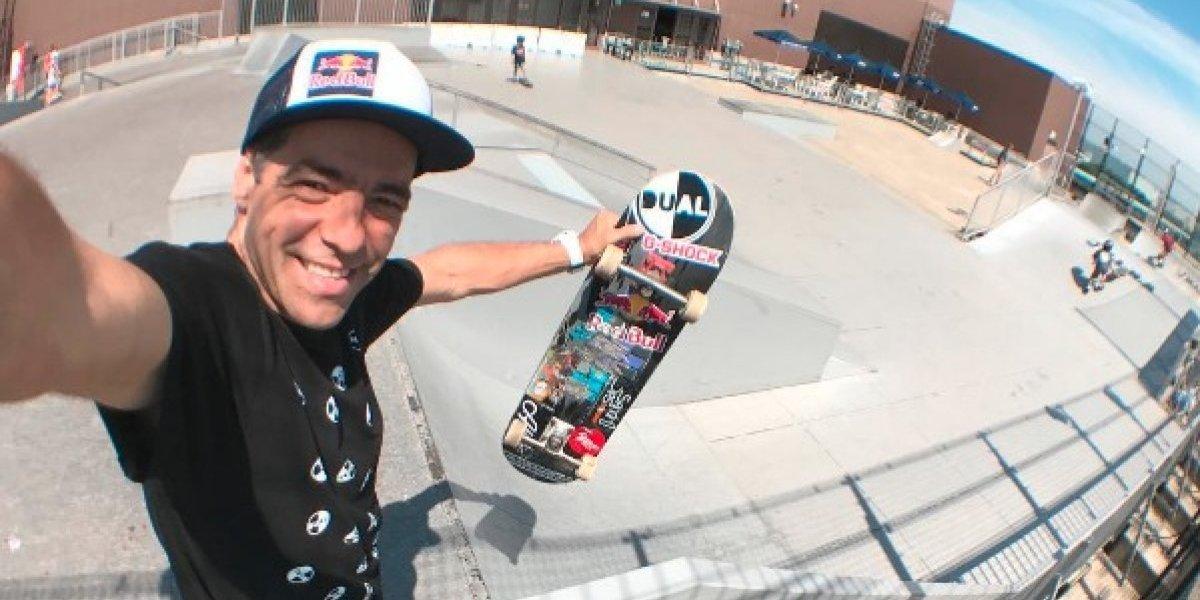 Mi sueño es seguir patinando como Tony Hawk: Sandro Dias