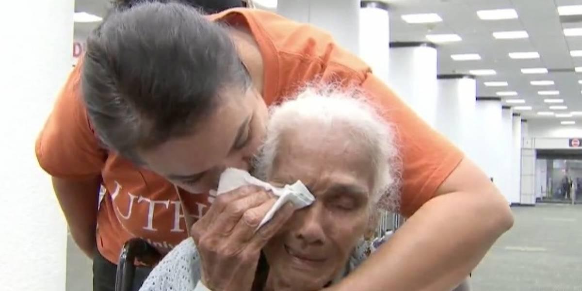 Anciana viequense rescatada piensa que va a regresar a su casita