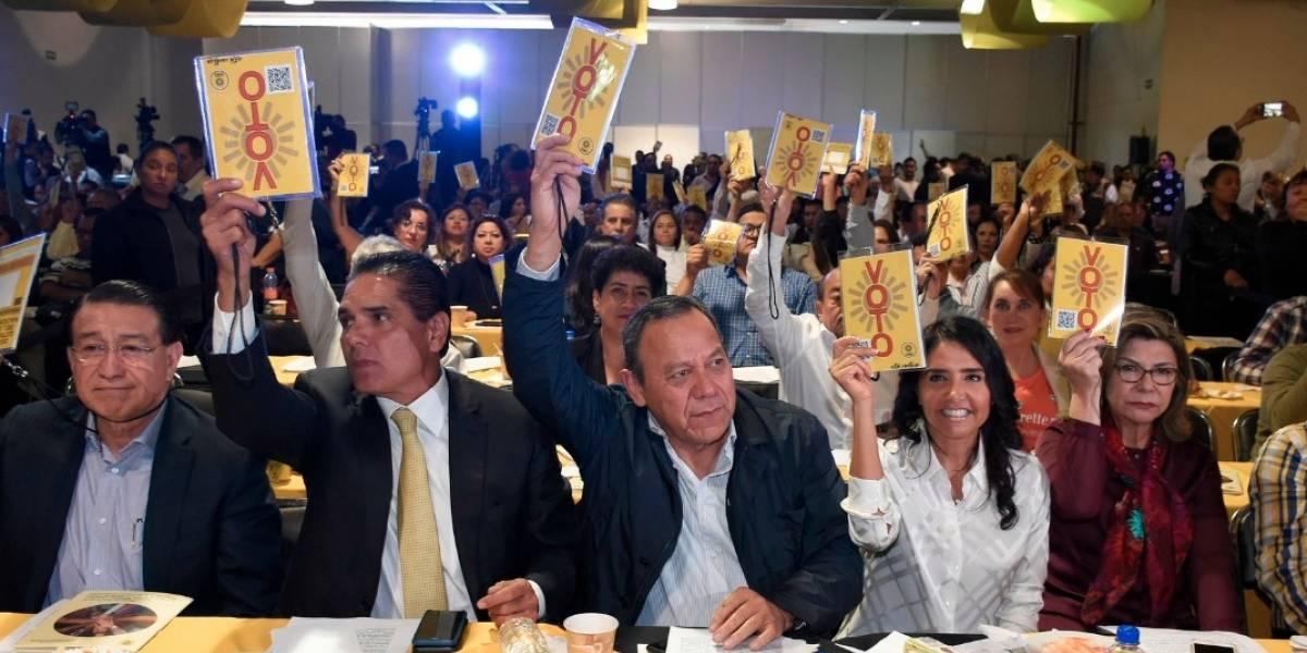 PRD aprueba definir candidatos mediante Consejo Nacional Electivo