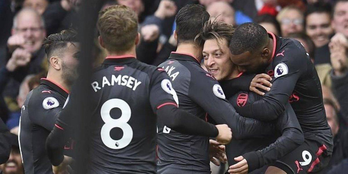 Minuto a minuto: Arsenal le gana a Everton con activa participación de Alexis