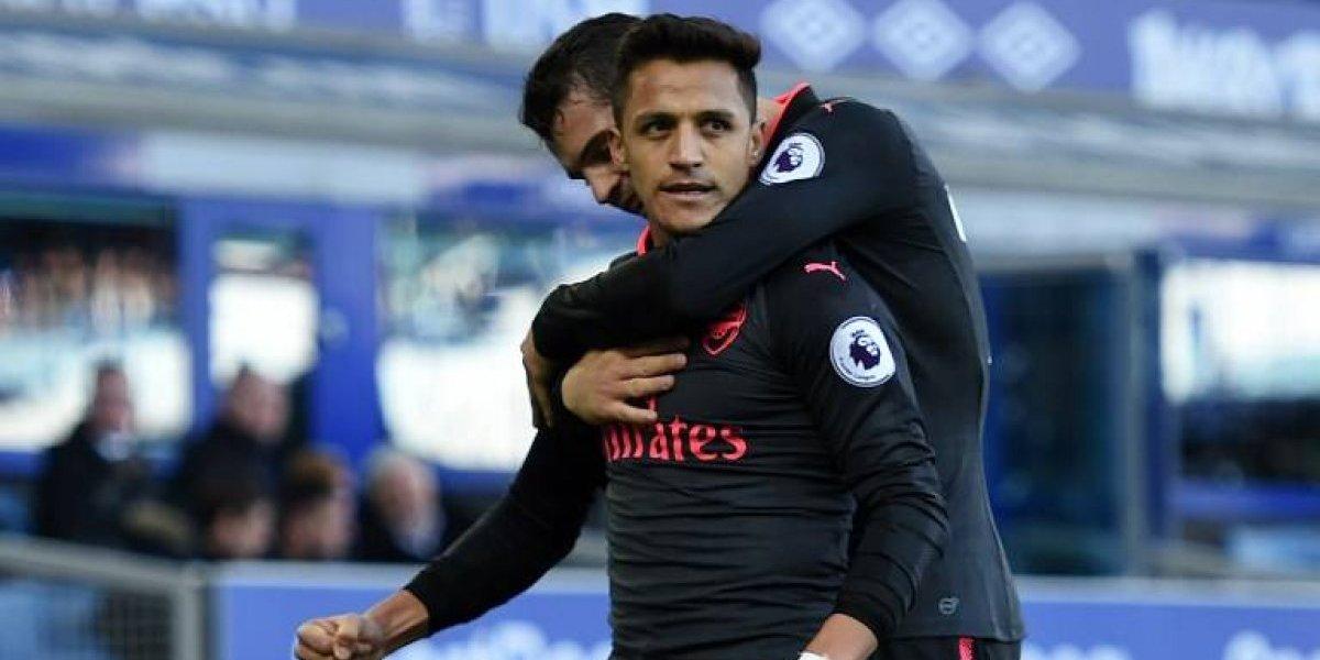 Arsenal gana con las maravillas de Alexis Sánchez