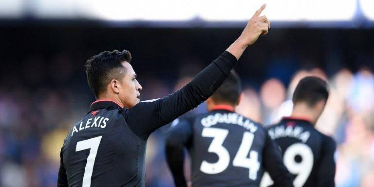 """Wenger se rinde a los pies de Alexis Sánchez: """"Estaba en llamas"""""""