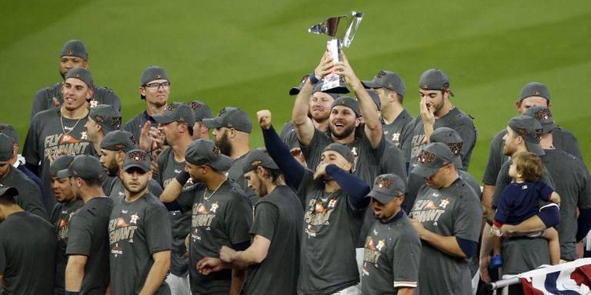 Astros vencen a los Yankees y van a la Serie Mundial tras 12 años