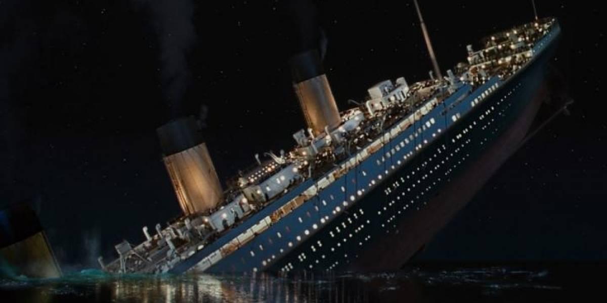 Subastan carta escrita antes que el Titanic se hundiera