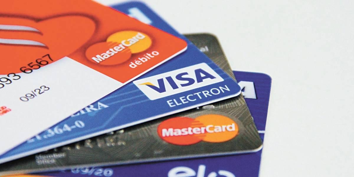 Fatura média do cartão de crédito é de R$ 966, diz pesquisa