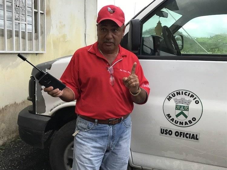 Jorge Márquez alcalde de Maunabo