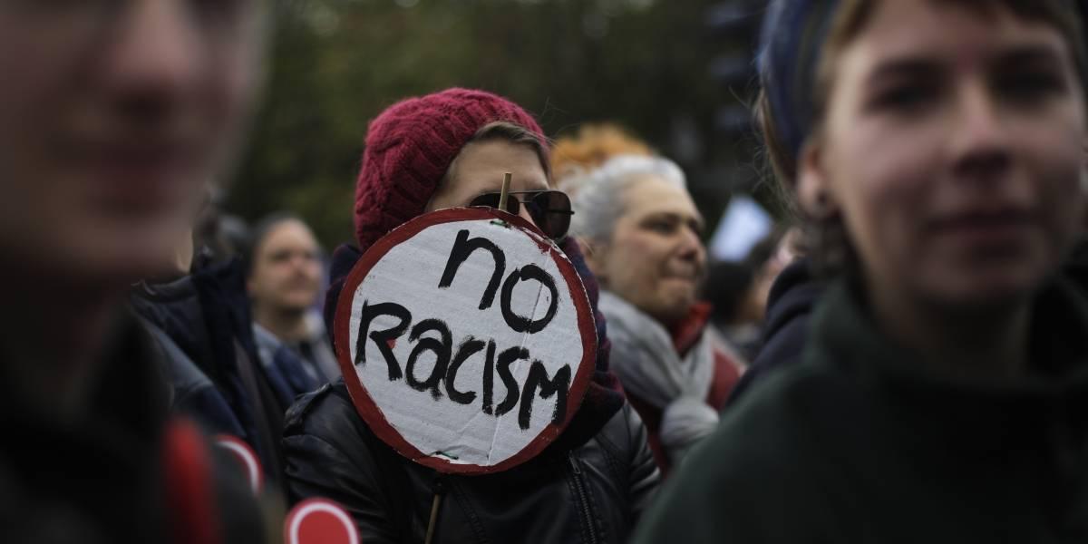 Miles marchan en Berlín contra el odio y el racismo