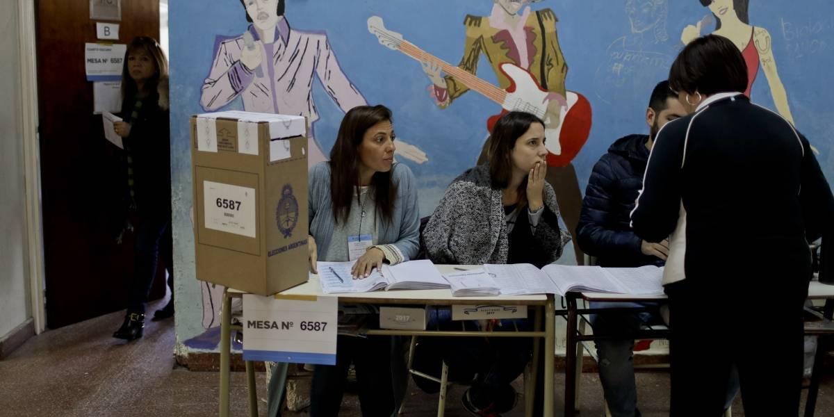 Argentina realiza elecciones legislativas en medio de la tensión por el Caso Maldonado