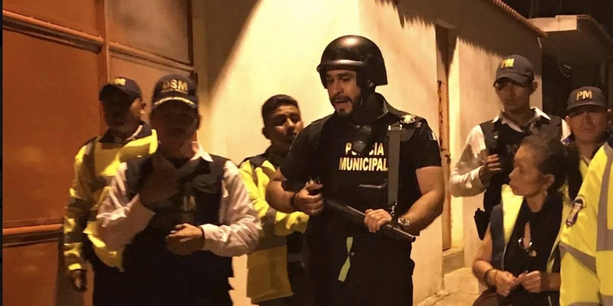 Neto Bran sale armado a patrullar las calles de Mixco