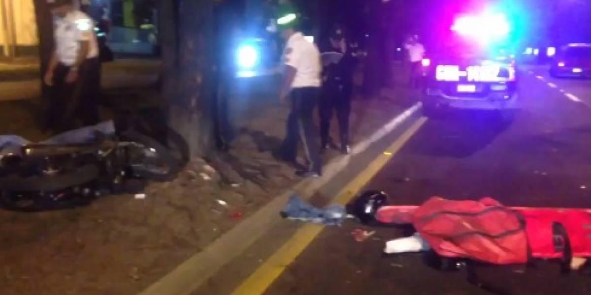 Pide a motorista llevarla a su casa pero fallecen en accidente