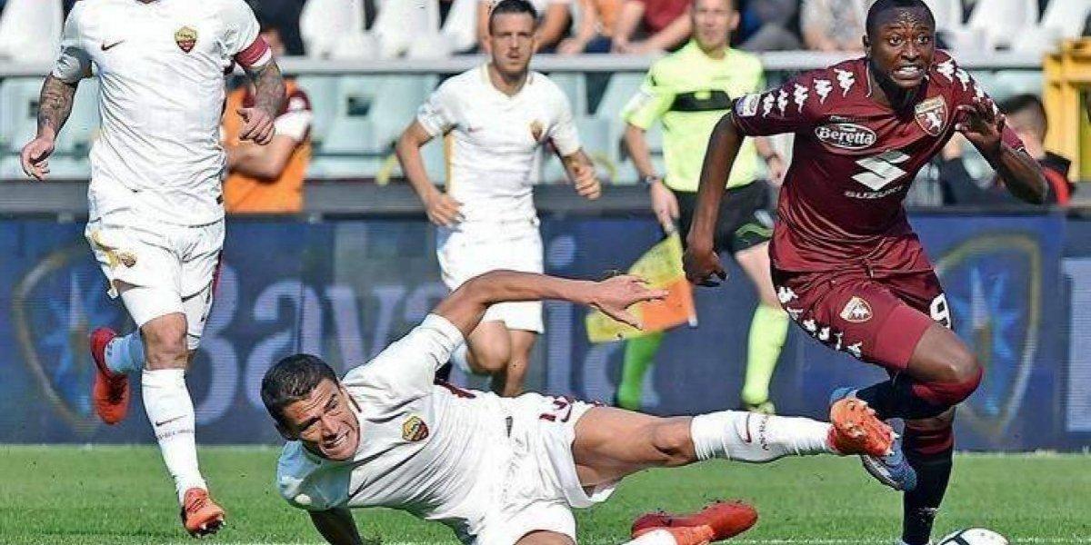 Héctor Moreno debuta como titular en la Roma