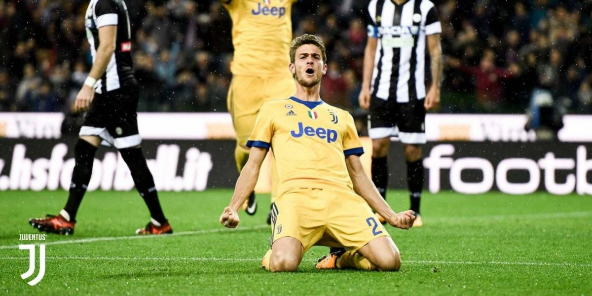 Juventus golea en casa a Udinese en la Serie A