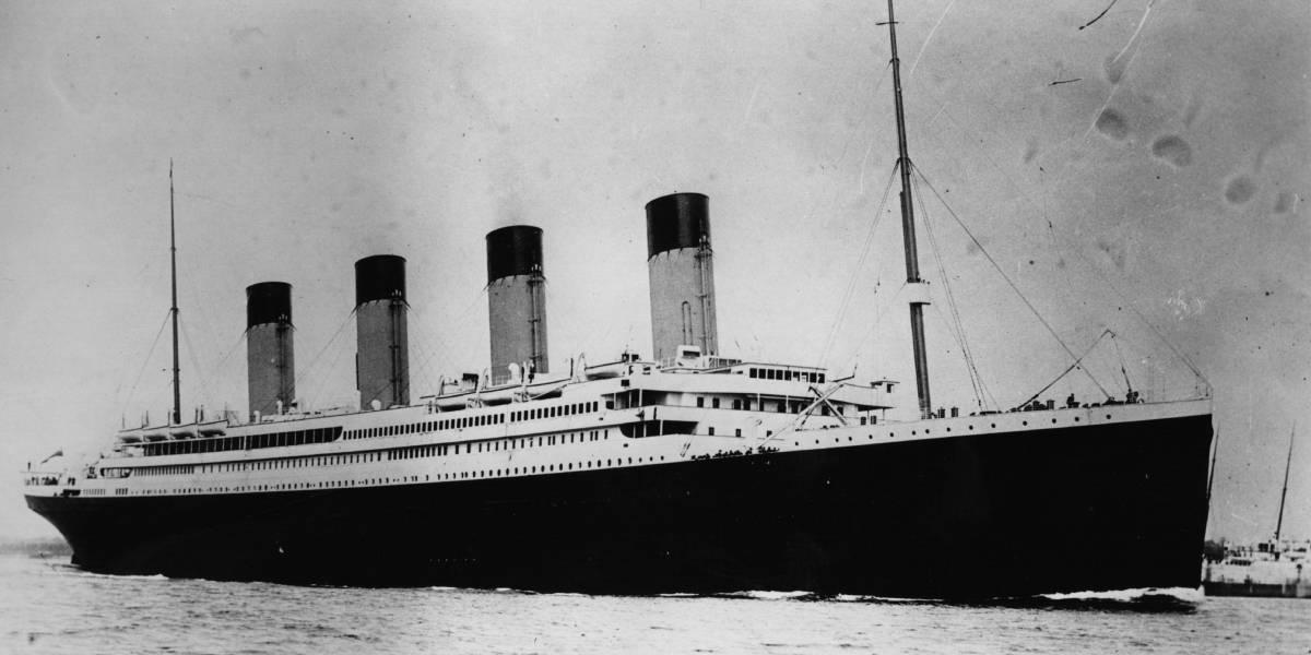 Subastan carta escrita desde el Titanic: 'Si todo sale bien, llegamos el miércoles'