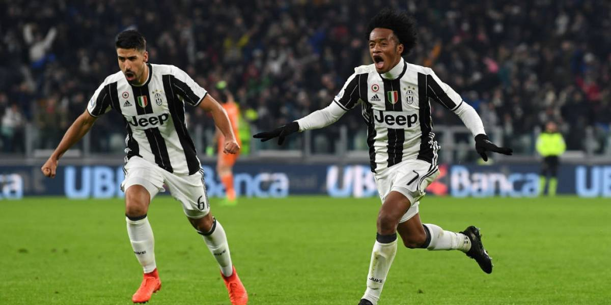 Cuadrado apareció en el brillante 6-2 de la Juventus