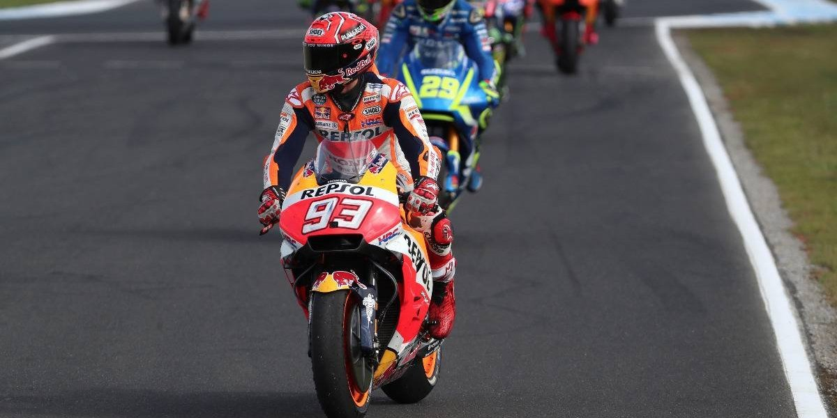 Marc Márquez ganó en Australia y está a un paso del título en el MotoGP