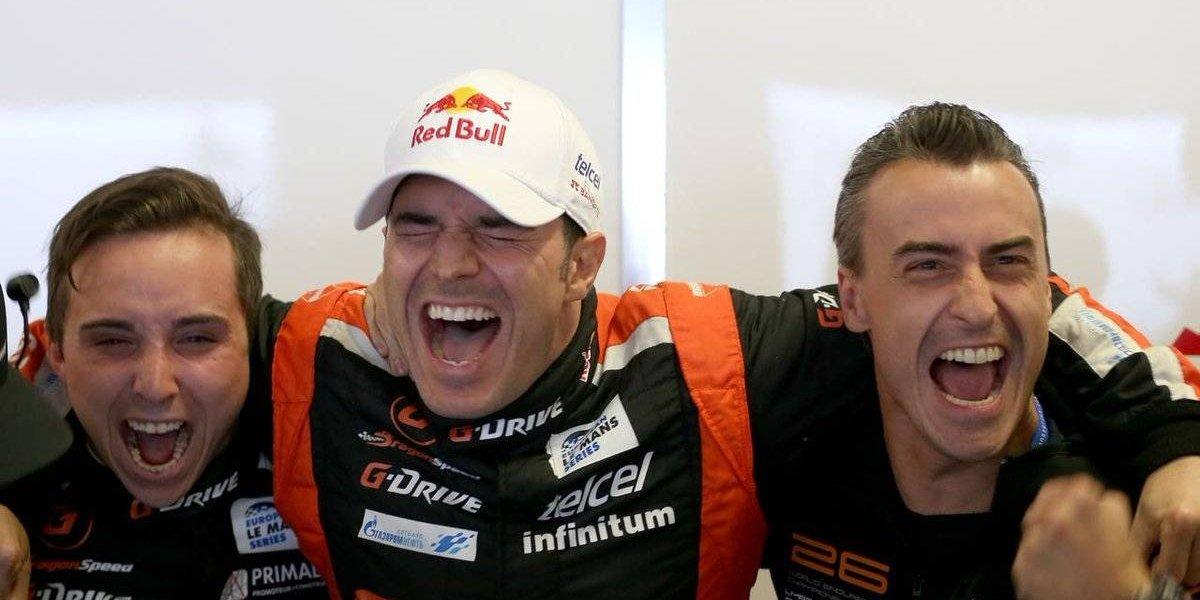 Memo Rojas se corona en la Europa Le Mans Series