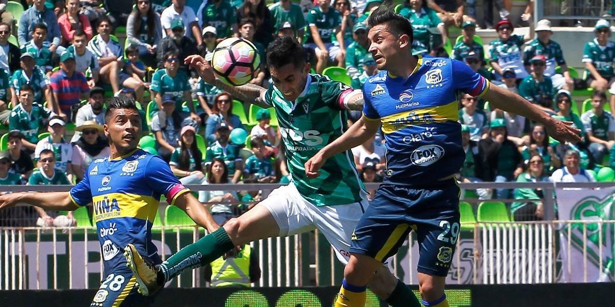 Wanderers alejó a Everton de la lucha por el título en un emocionante clásico porteño