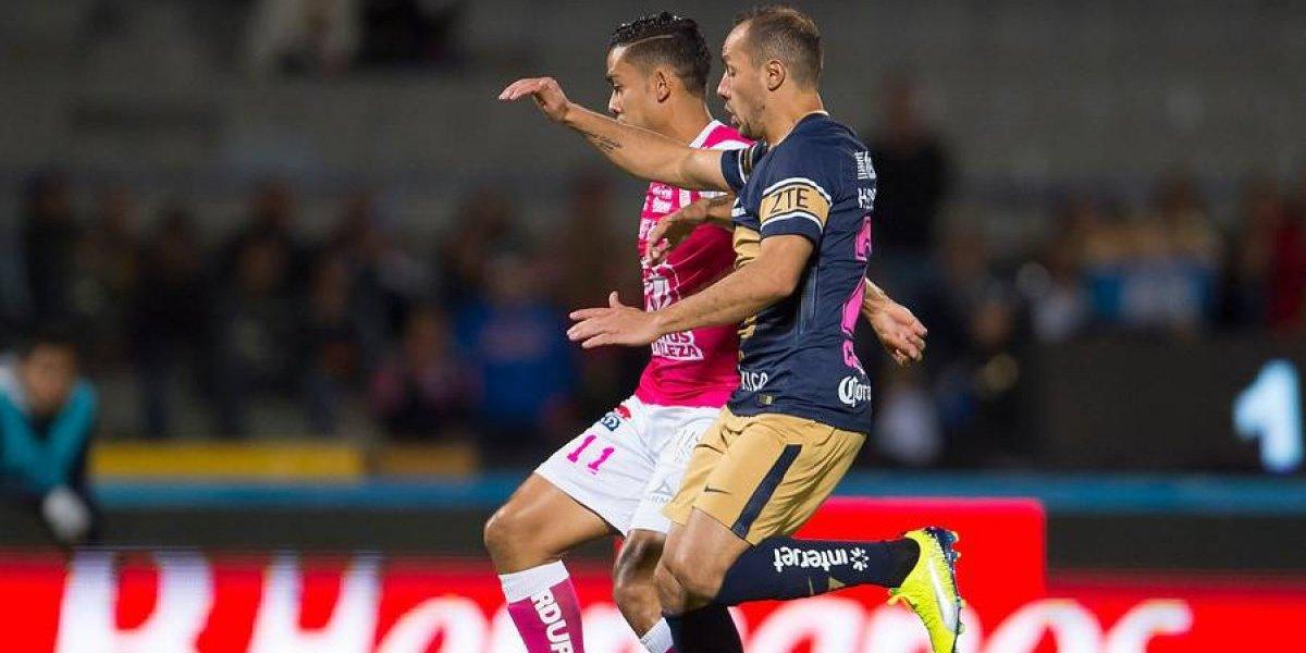 Los chilenos de Pumas se despidieron de la opción de jugar los playoffs de la Liga MX