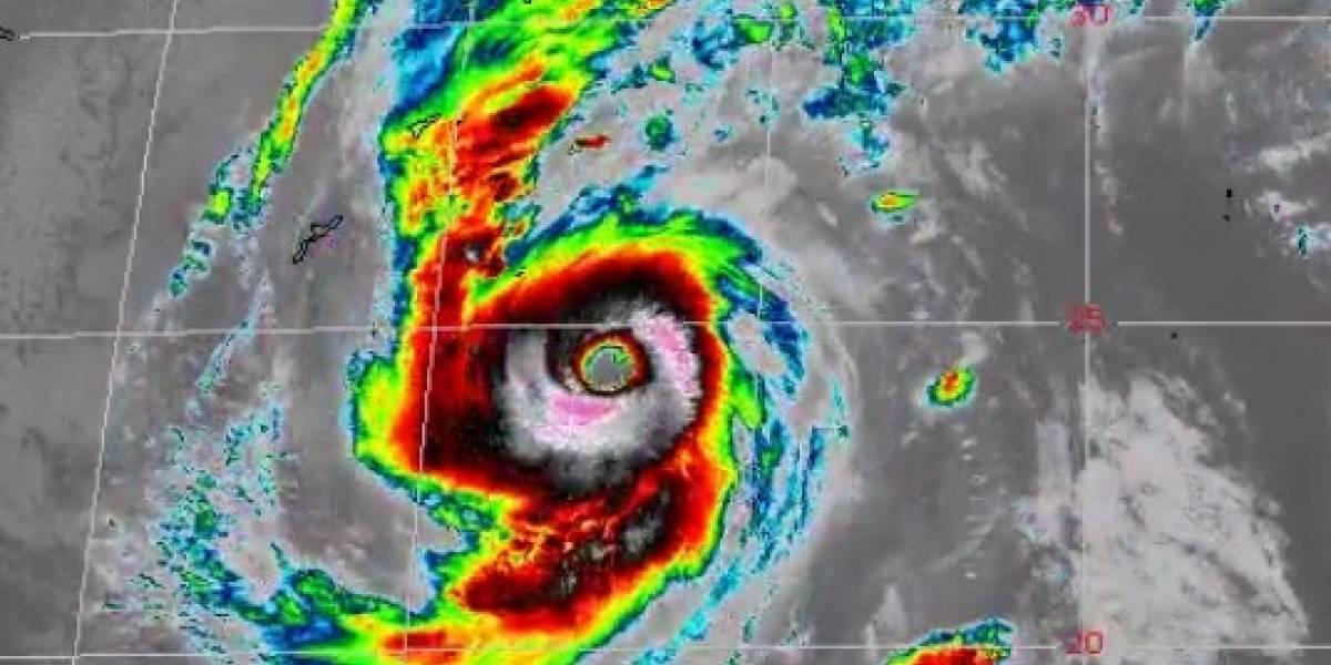 Tifón Lan se dirige a las islas de Japón con vientos de 100mph