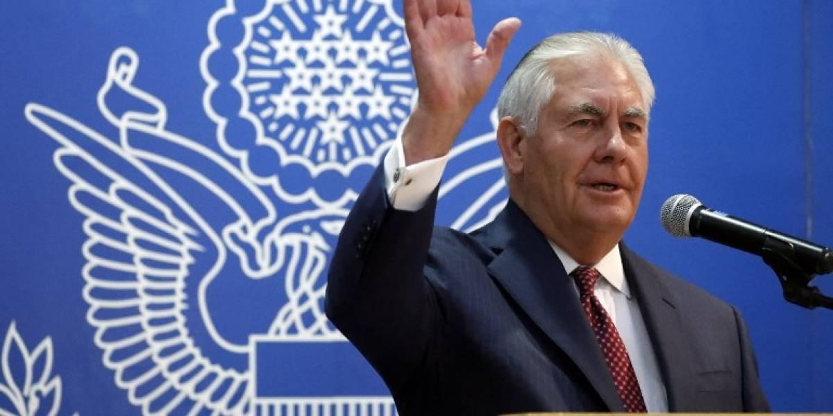 Tillerson insta a las milicias iraníes a dejar Irak