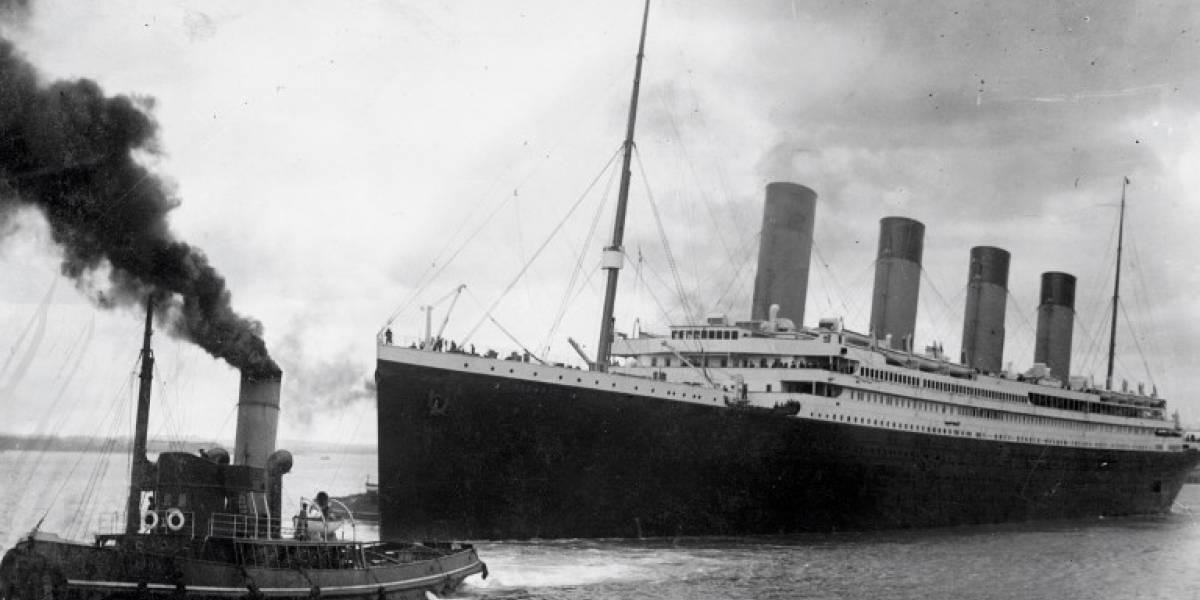 VIDEO. Subastan carta escrita antes de que el Titanic se hundiera