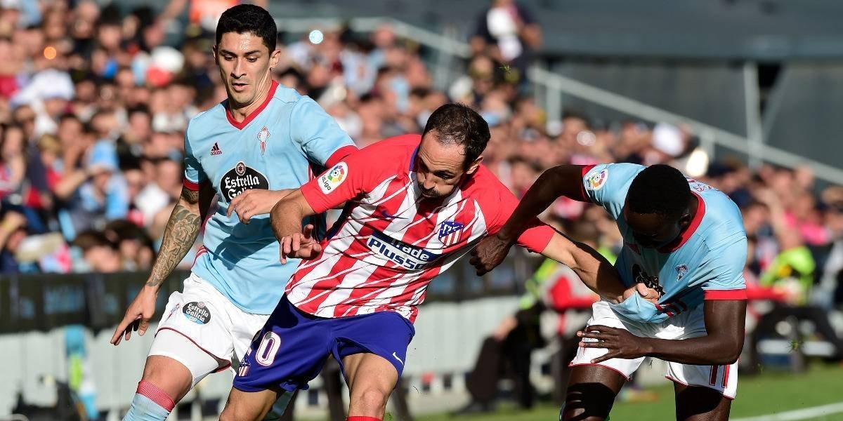 El Tucu Hernández y Celta no pudieron ante el Atlético de Madrid