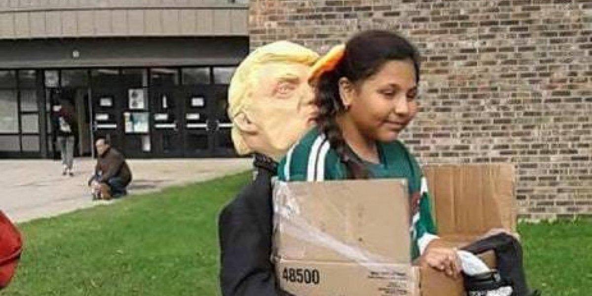 'Trump me deporta a México': el disfraz de moda para este Halloween