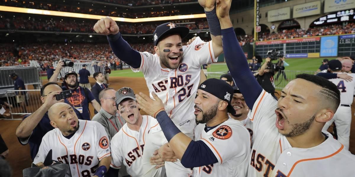 Astros, directo a la Serie Mundial tras blanquear a los Yanquis
