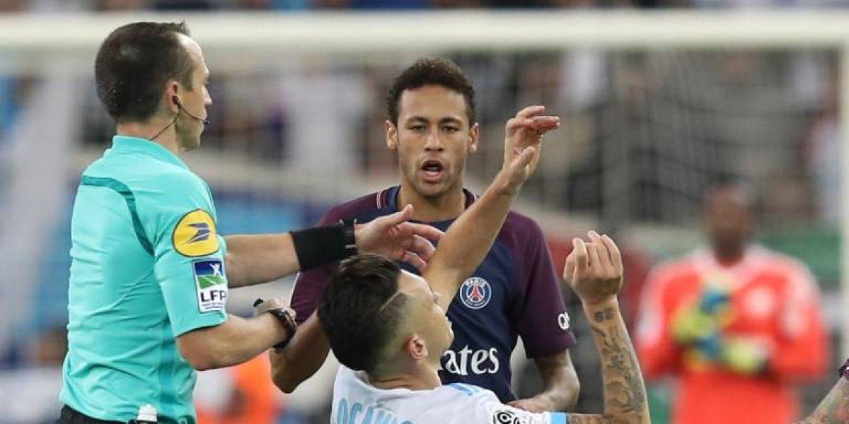"""Neymar se descarga tras su expulsión: """"El arbitro quería ser más protagonista que los jugadores"""""""