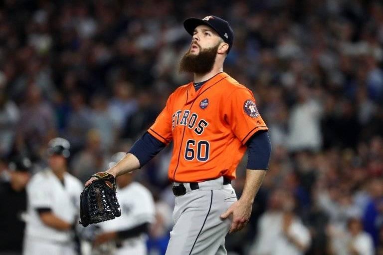 Dallas Keuchel de los Astros de Houston