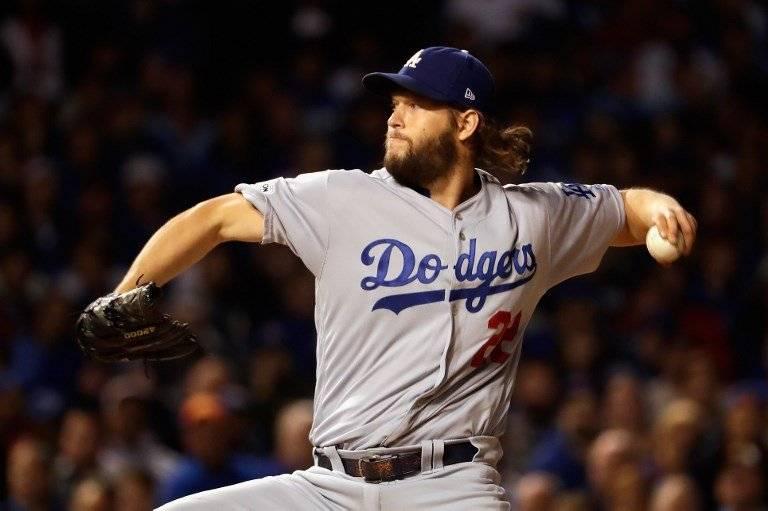 Cleyton Kershaw de los Dodgers