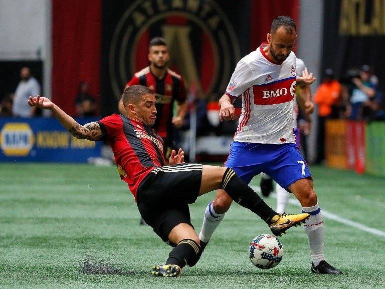 Atlanta United rindió en la cancha y en las tribunas (Foto: AFP)