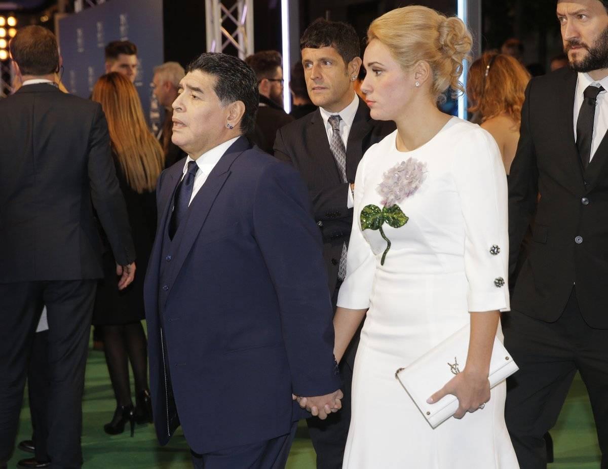 Diego Armando Maradona presente en el