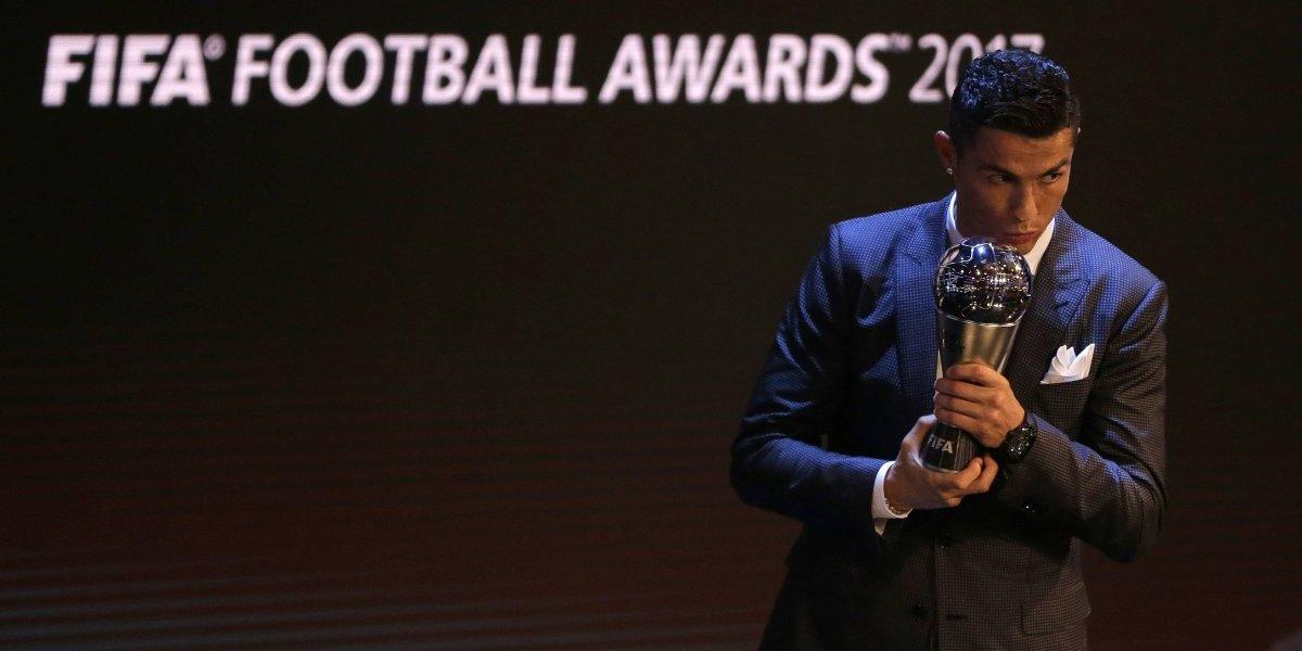 Cristiano conquista el FIFA 'The Best' por segundo año consecutivo