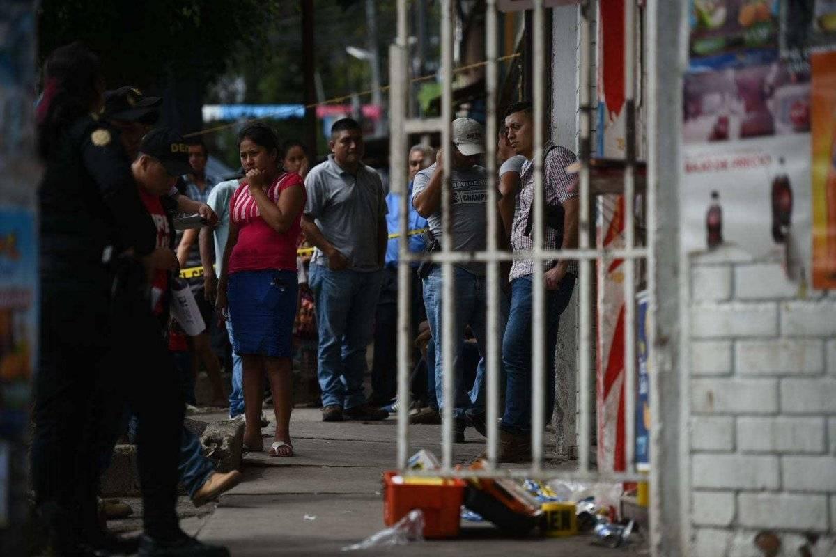 Ataque armado en tienda en Ciudad Real I. Foto: Edwin Bercián
