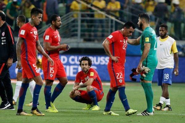 Johnny Herrera está enojado con las críticas a la Roja / imagen: Agencia UNO