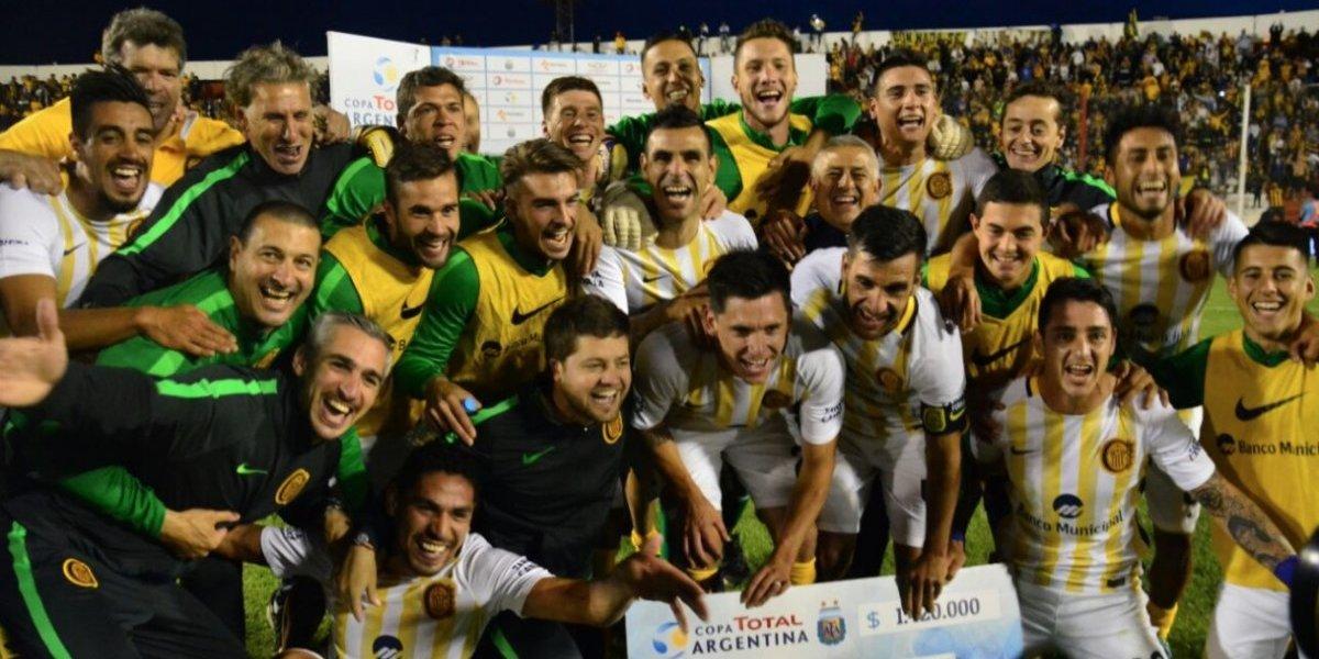 Festeja Parot: Central dio vuelta un partido increíble y clasificó a semifinales de la Copa Argentina