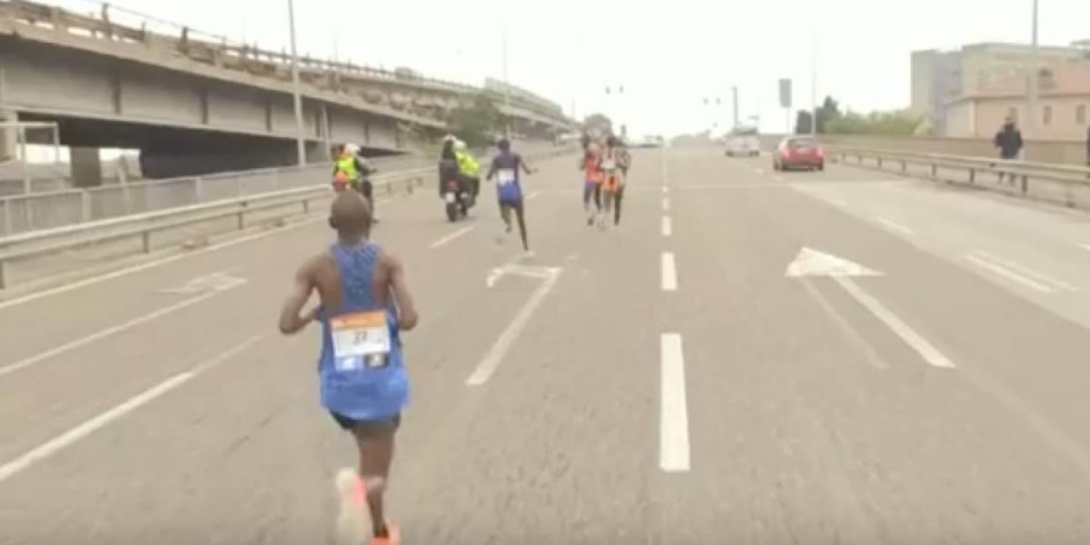 Ganó el maratón de Venecia porque los demás se equivocaron de ruta