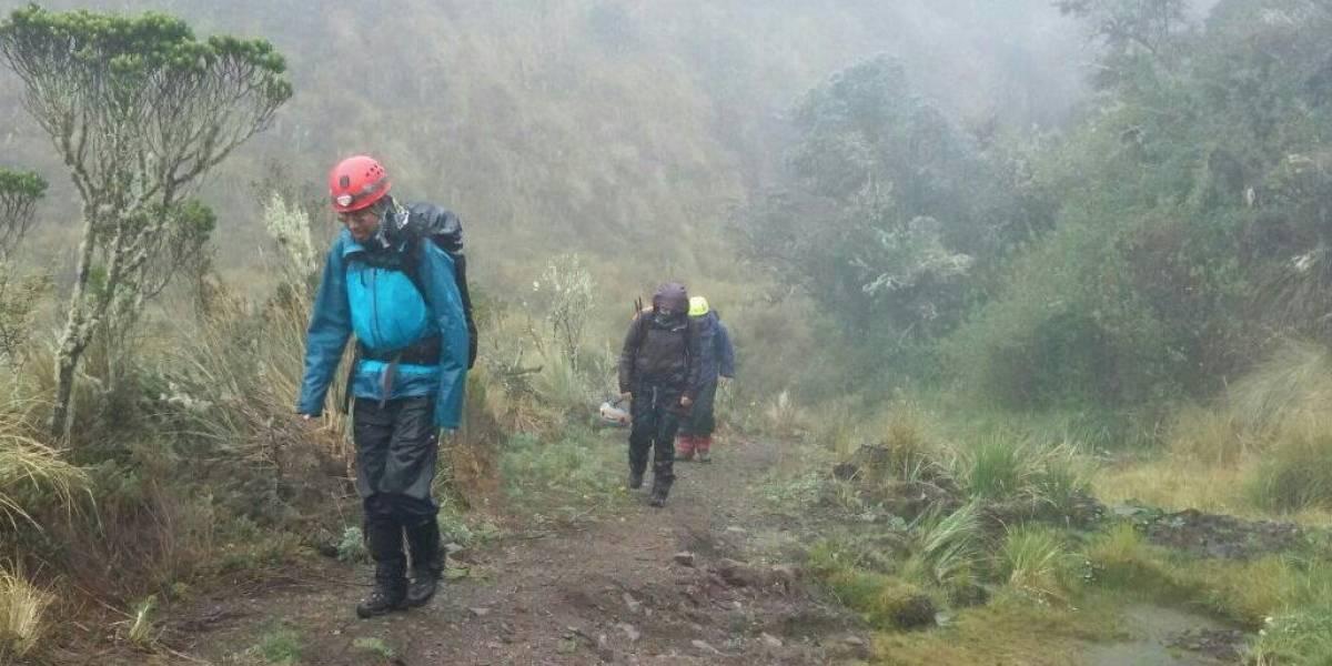 Rescatan a personas extraviadas en el Parque Nacional Cotopaxi