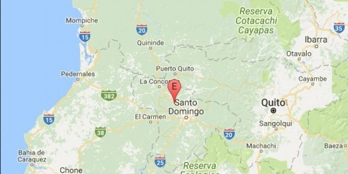Se registra un sismo en Santo Domingo