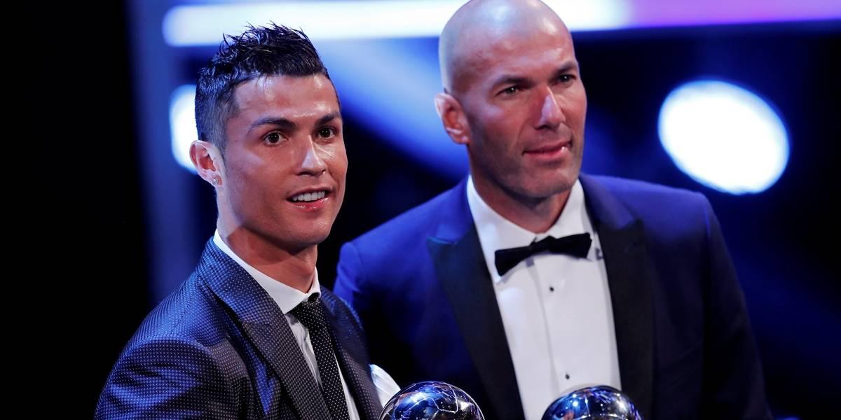 'CR7 é o melhor jogador da história do futebol', diz Zidane