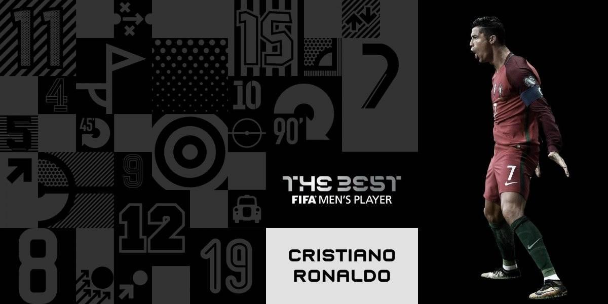 Cristiano Ronaldo, ganador al mejor jugador del año