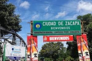 La llegada a Zacapa