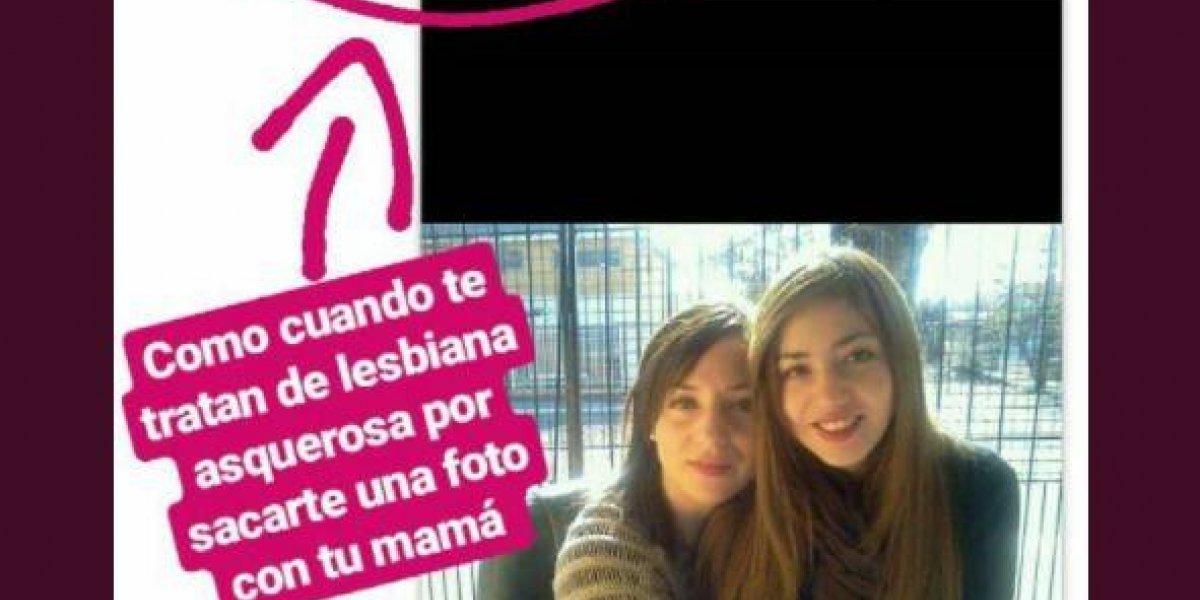 """""""Es increíble al nivel de odio que llegan estos personajes"""": sube foto con su mamá y la tratan de """"asquerosa lesbiana"""""""