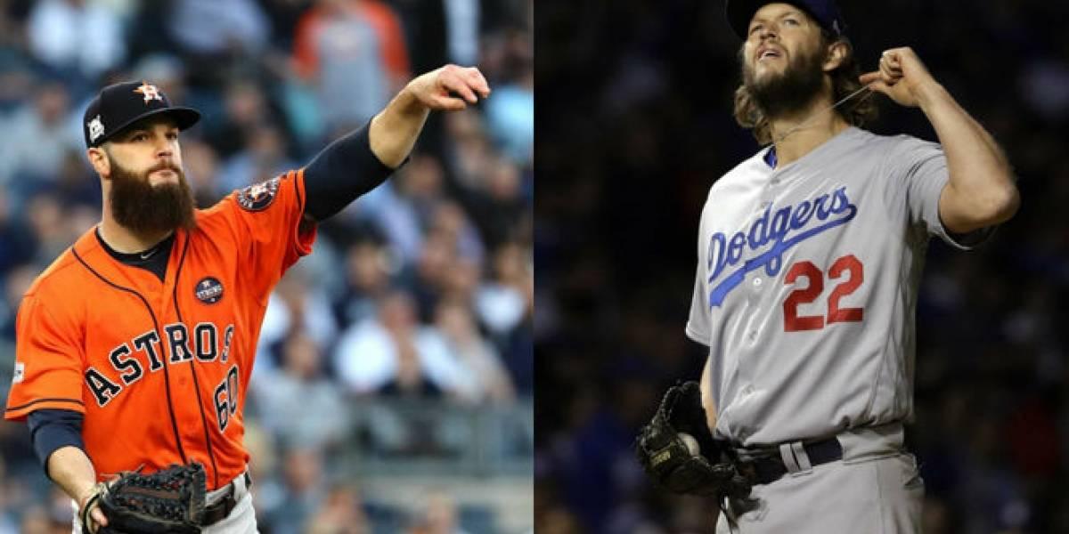 Dodgers y Astros en busca de dar el primer golpe