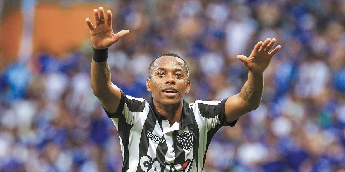 Com proposta do Atlético-MG, Robinho se distancia do Santos
