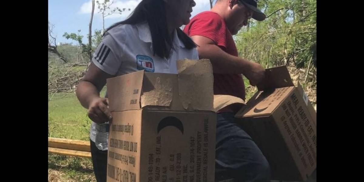Alcaldesa pone a sus hijas a trabajar por la comunidad