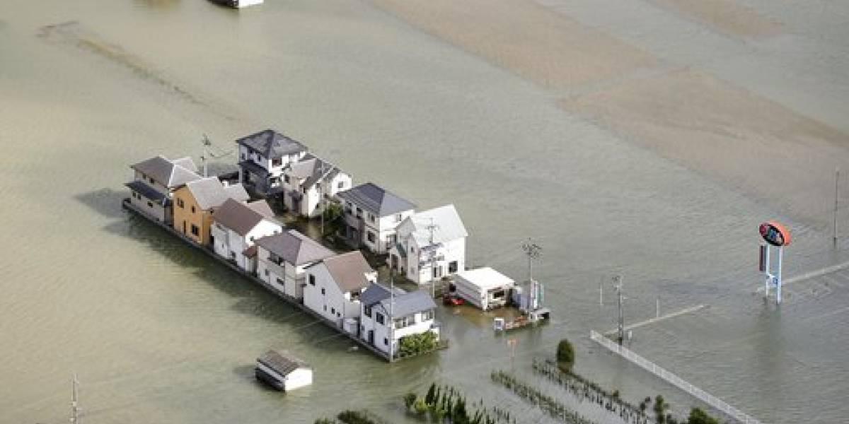 Poderoso tifón deja cinco muertos a su paso por Japón
